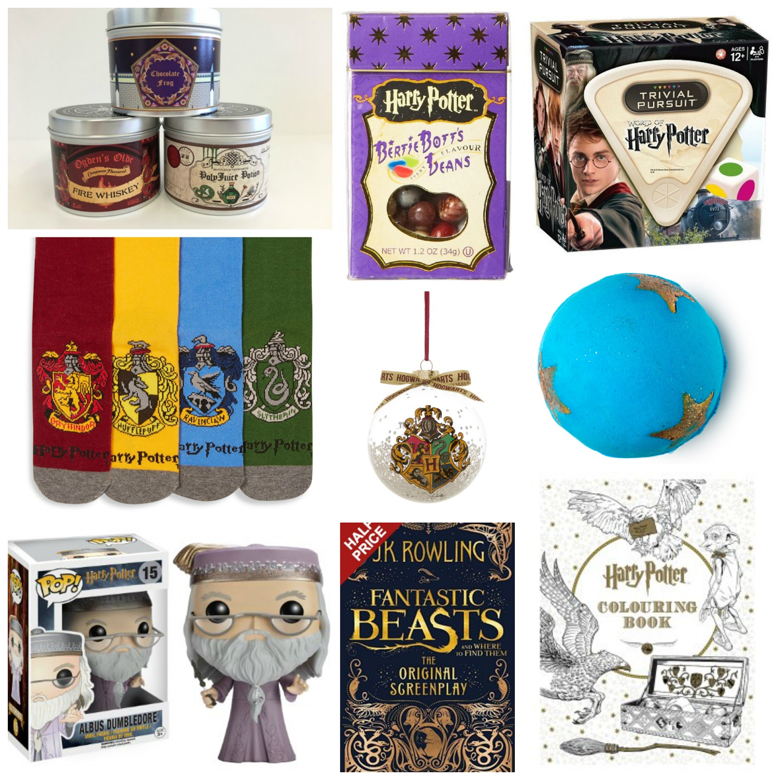 Harry Potter Christmas Gifts.Christmas Gift Guide Gifts For Harry Potter Fans What