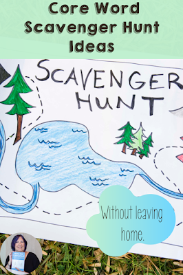 core word scavenger hunt