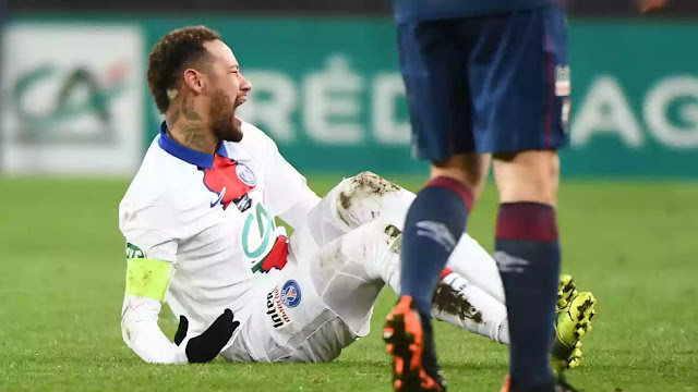 Football news neymar jr injury update psg