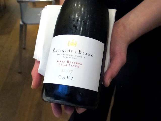 Cava at Ametsa with Arzak Instruction
