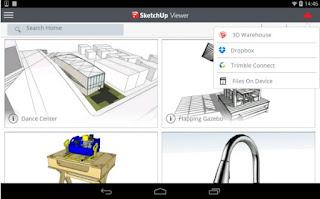 تطبيق SketchUp لعرض ملفات DWG