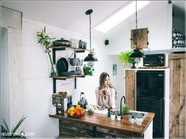 ديكورات مطابخ صغيرة 10   Small kitchen Decors 10