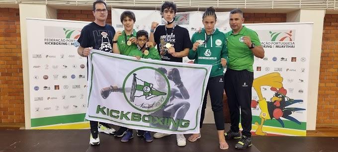 Associação Naval 1893 conquistou 8 títulos no Campeonato Regional de Kickboxing