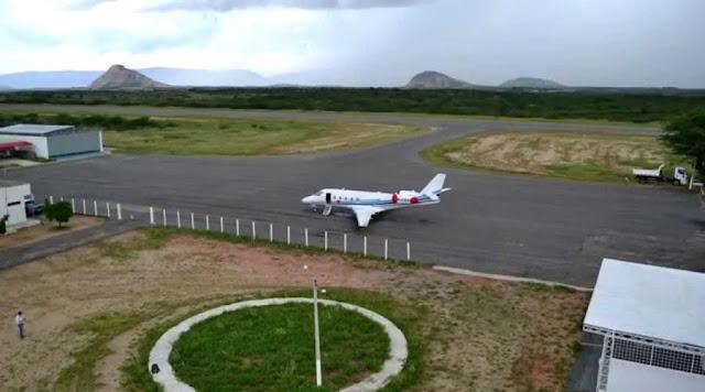 Governo do Estado lança edital de licitação para obras do Aeroporto de Patos
