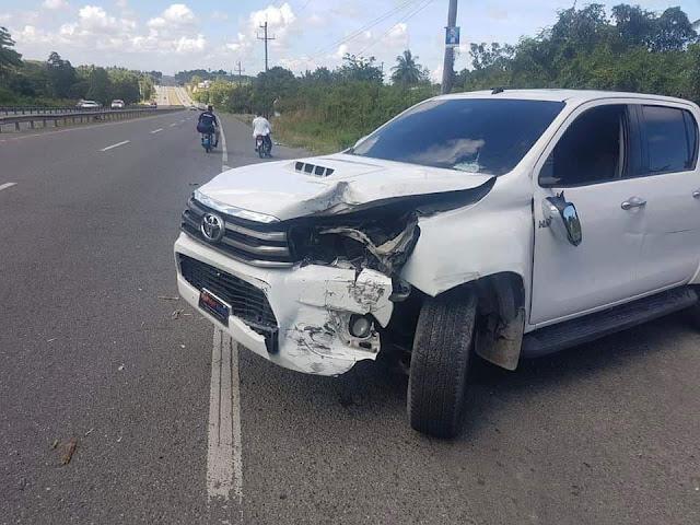 El Faro del Sur: BARAHONA: Diputado Mariano Montero sufre accidente