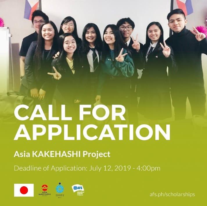 Exchange Program] AFS Intercultural Program - Asia KAKEHASHI