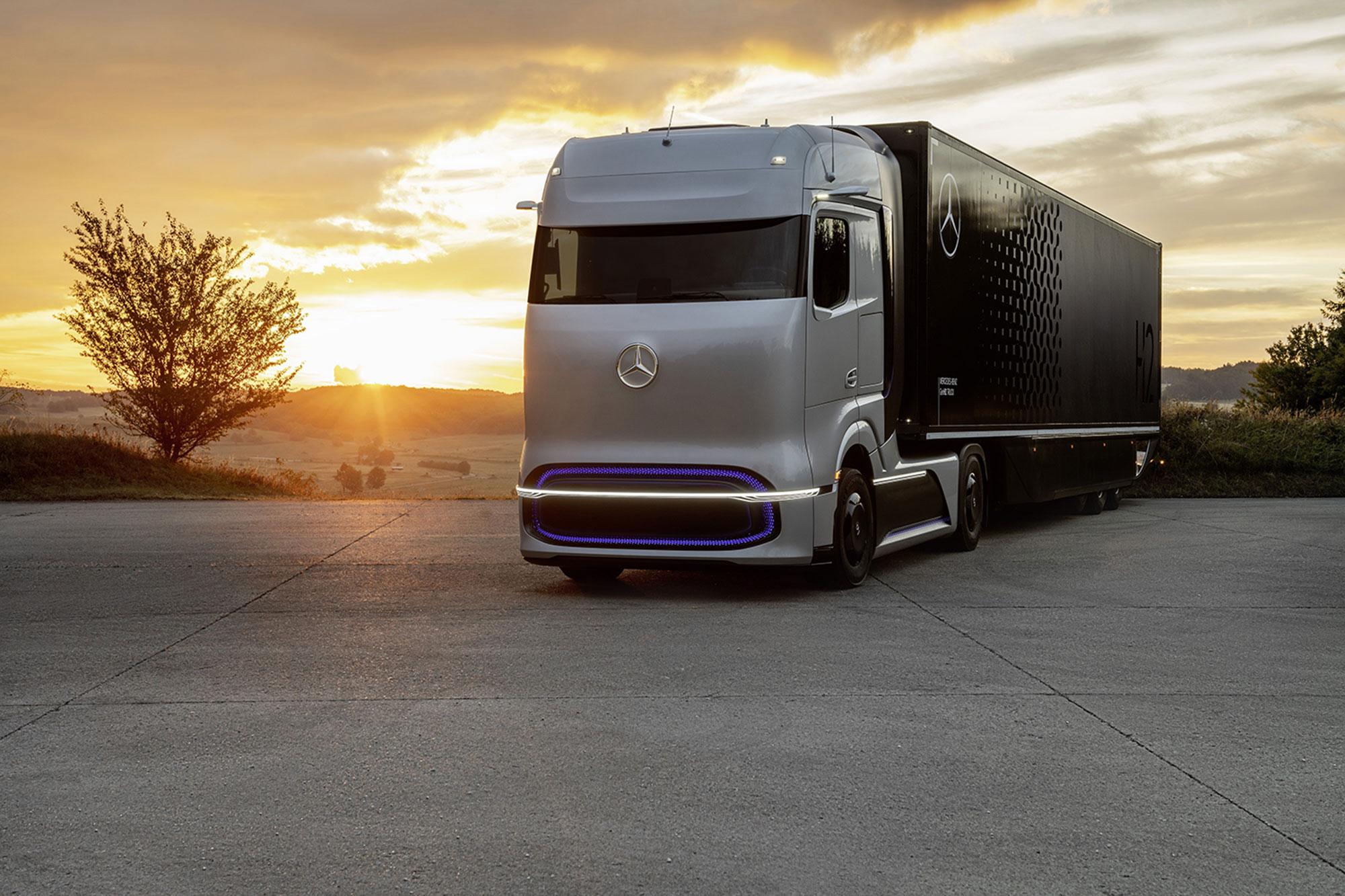 Daimler Truck AG ajuda a introduzir o transporte a hidrogênio em massa na Europa
