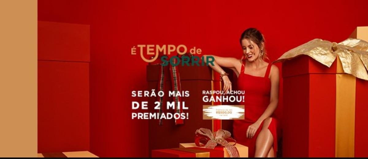 Promoção Eskala Natal 2020 É Tempo de Sorrir Raspou, Achou, Ganhou e Sorteios 35 Mil Reais