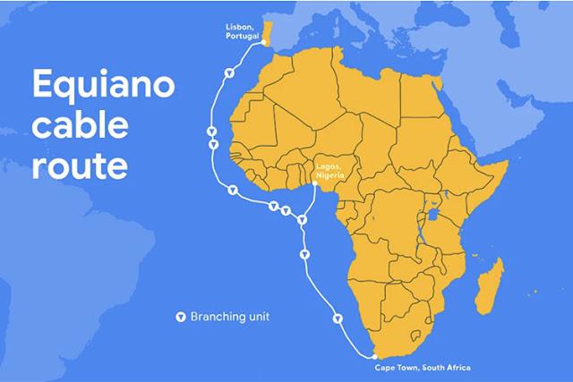 جوجل تقوم ببناء كابل بحري بين أوروبا وجنوب إفريقيا
