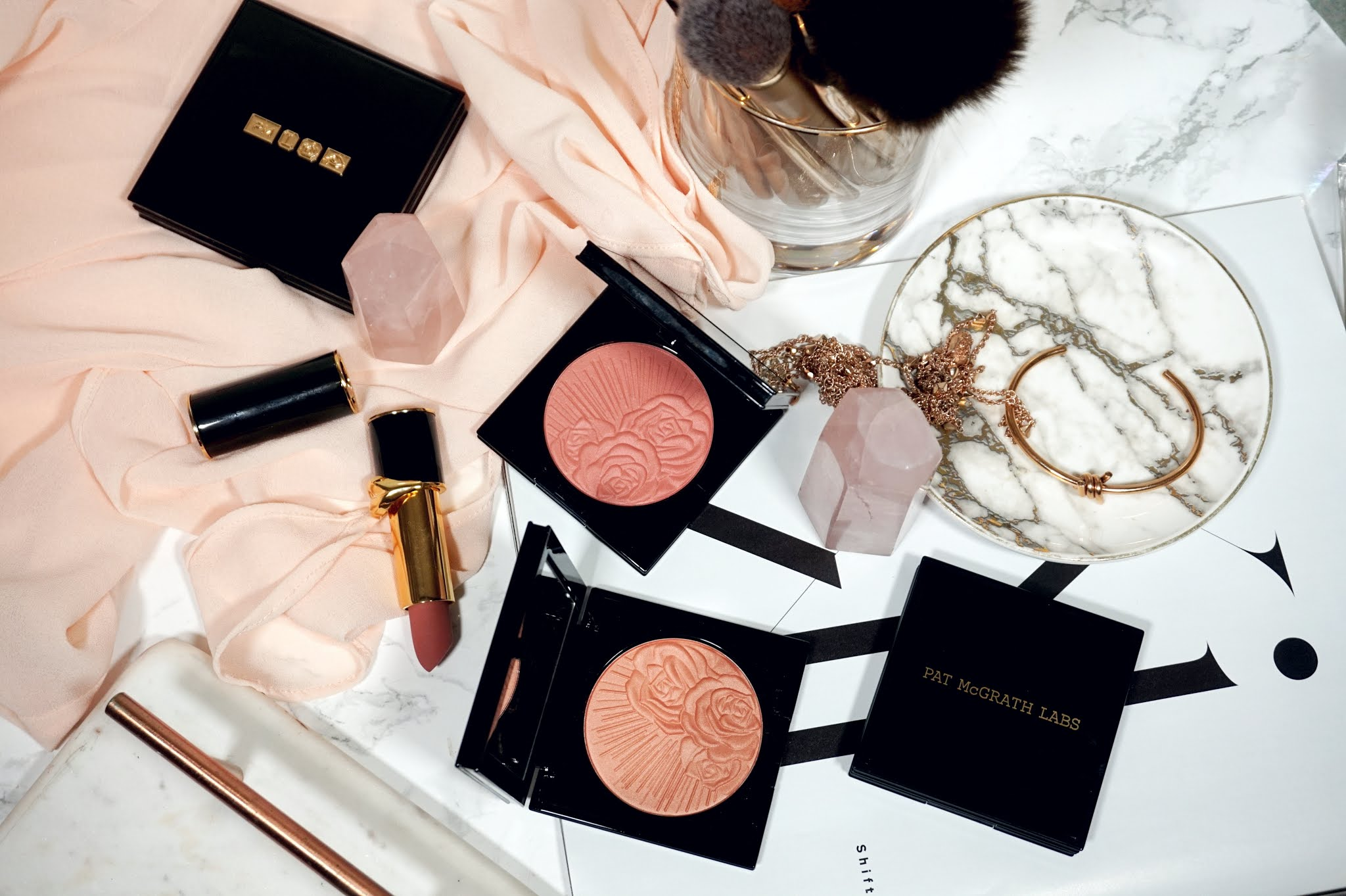 Pat McGrath Skin Fetish Divine Powder Blush Review and Swatches