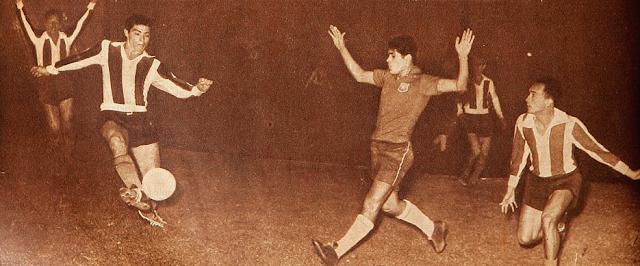 Paraguay y Chile en Campeonato Sudamericano de 1959