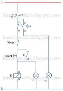 Rangkaian kontrol DOL