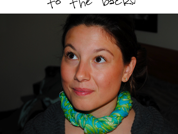 How to Tie a Scarf: The Boa