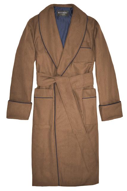 luxury wool mens dressing gown long warm cashmere housecoat smoking jacket robe extra warm big tall size bathrobe