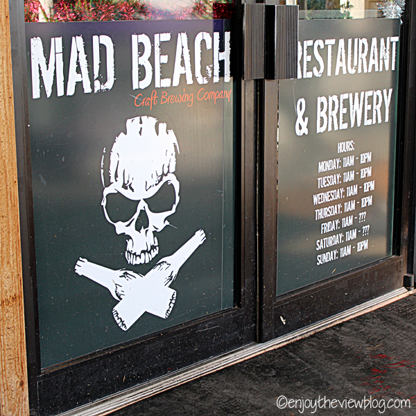 entrance at Mad Beach Brewing