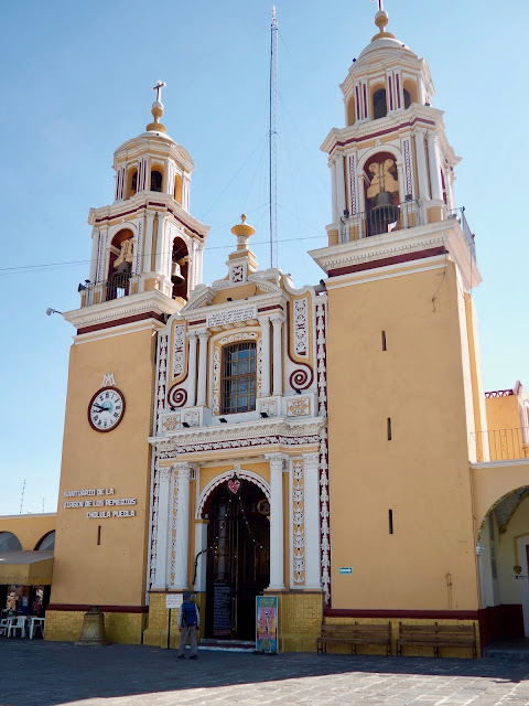 Church of Our Lady of Remedies, Cholula, Mexico