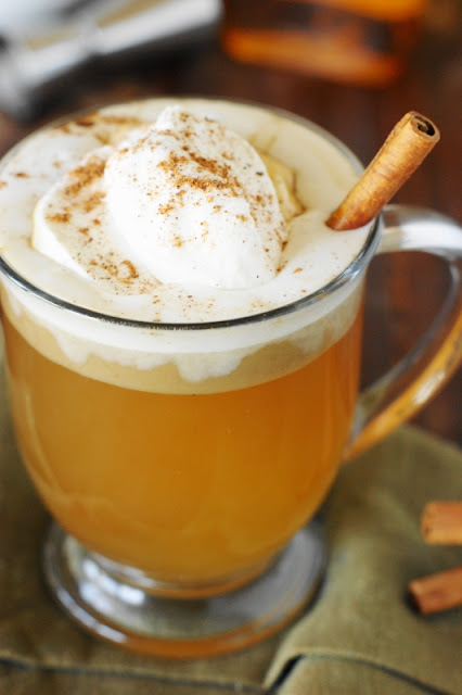 Hot Buttered Rum Topped with Whipped Cream image