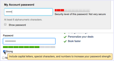 Create Strong Gmail Password