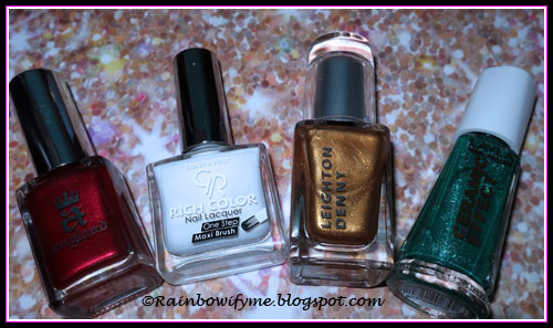 A England Perceval, Golden Rose #76, Leighton Denny Golden Girl, Layla CE79