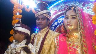 UP bride takes 'baaraat' to groom's house
