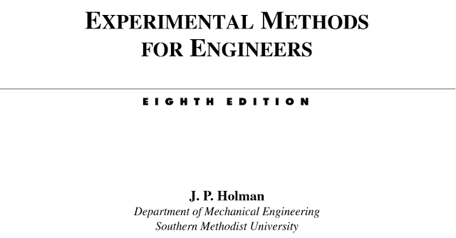 Experimental methods for engineers by j p holman gsdnb experimental methods for engineers by j p holman eight edition 8the department of mechanical engineering southern methodist university chapters fandeluxe Images