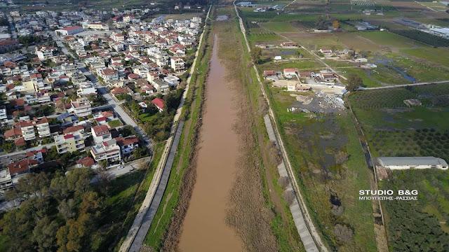 Προκήρυξη για τα αντιπλημμυρικά έργα σε Ίναχο και Ξεριά στην Αργολίδα