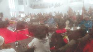 Gabungan Ormas Di Kotamobagu  'Geruduk' Kantor DPRD Bersatu Tolak RUU HIP