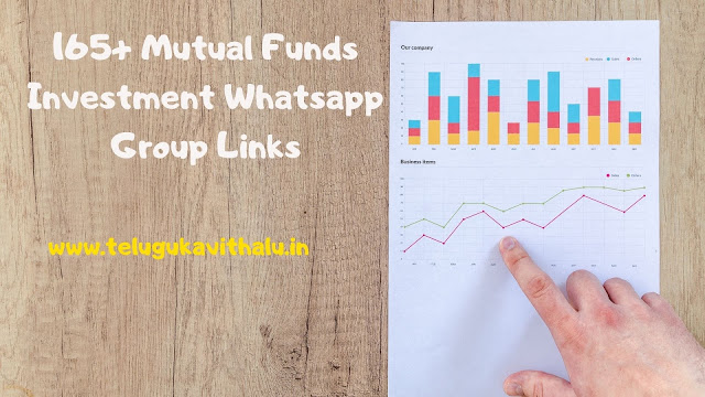 165+ Mutual Funds Investment Whatsapp Group Links