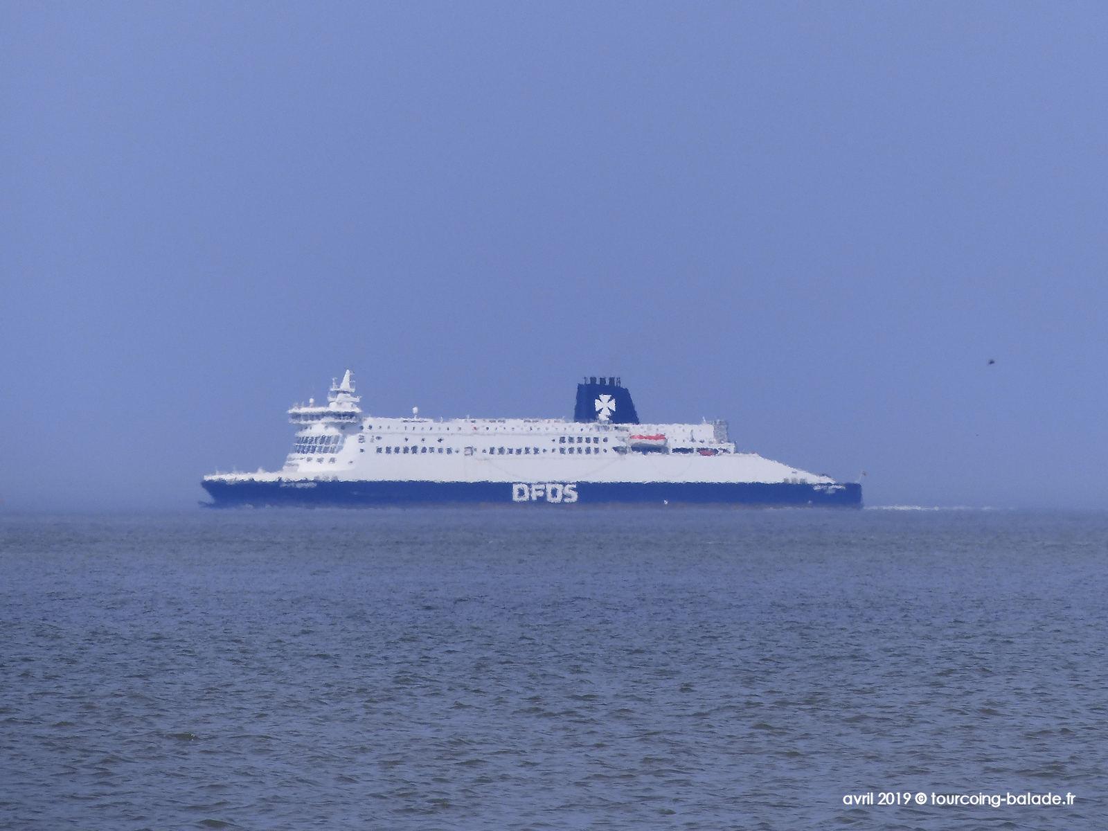 Ferry en Mer du Nord, 2019