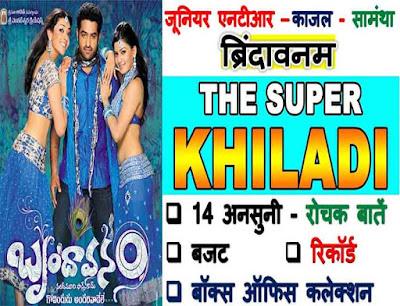 Brindavanam The Super Khiladi Movie Trivia In Hindi