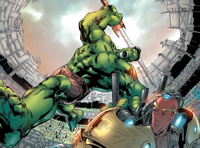 hulk vs red king