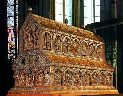 Αποτέλεσμα εικόνας για Η λειψανοθήκη των 3 Μάγων