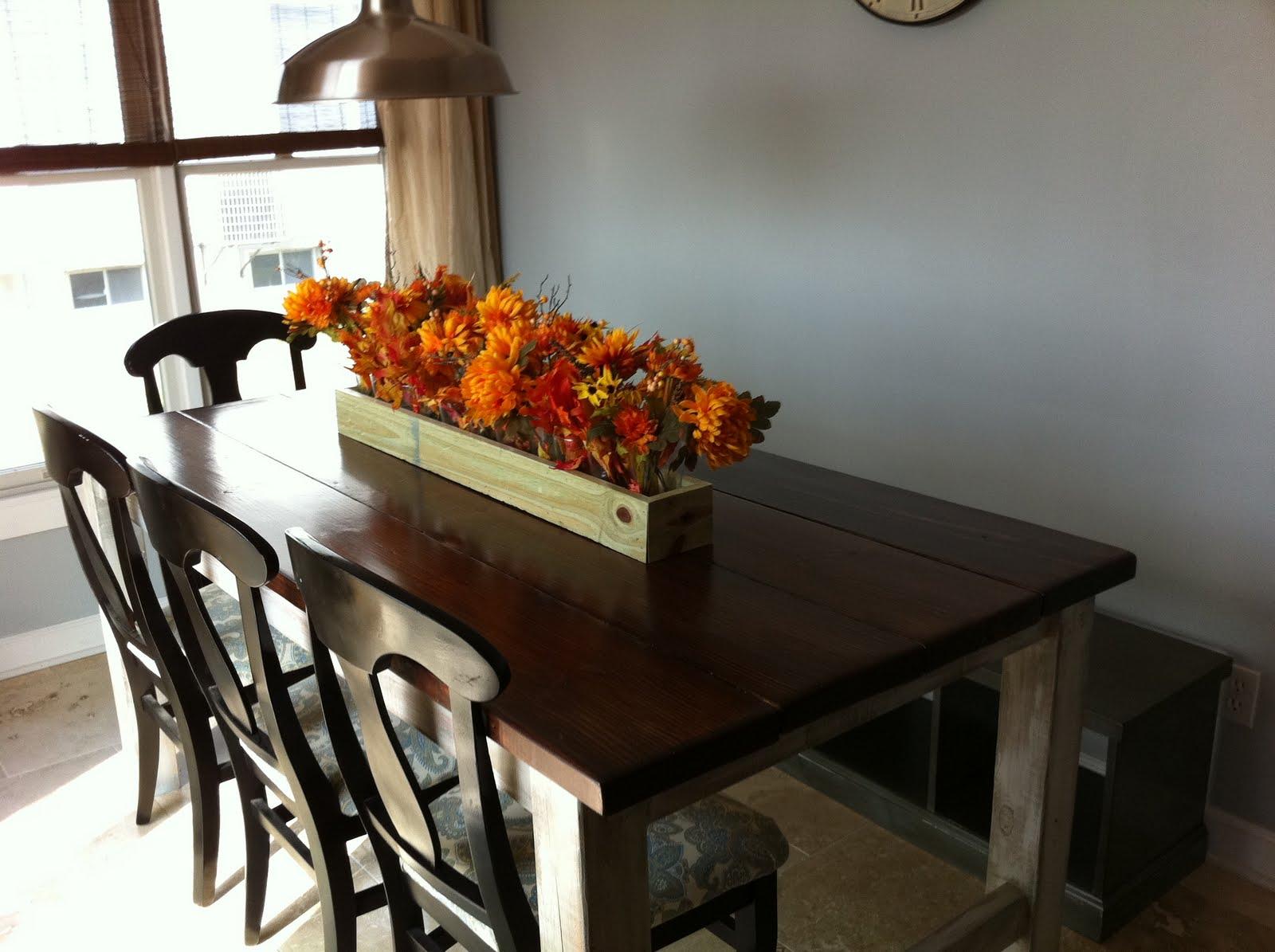 The Quaint Cottage: DIY Rustic Farmhouse Table (Finish