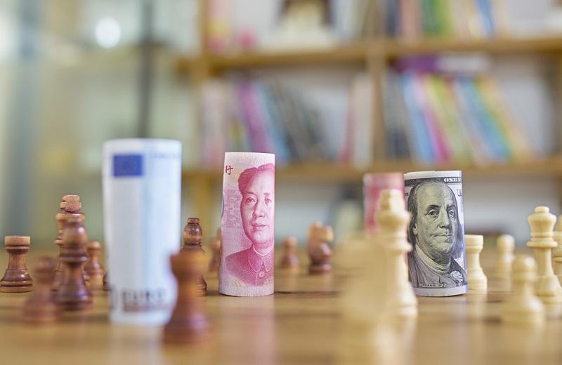 ilustrasi devisa dan pertukaran mata uang