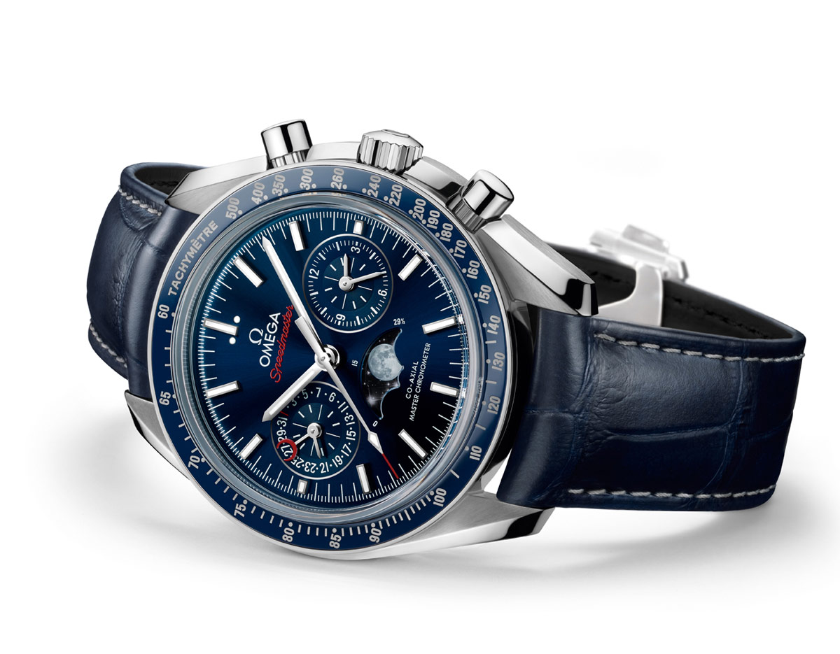 Omega speedmaster moonphase chronograph master chronometer time and watches for Chronograph master