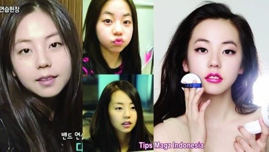 artis korea Sohee tanpa memakai makeup