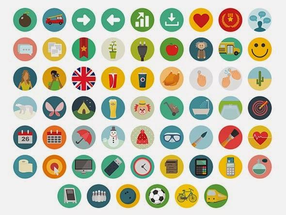 Round Icons Free Set