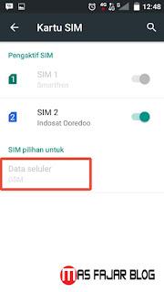 Cara Mudah agar SIM 2 GSM Bisa 3G (Evdo) / 4G di HP Andromax