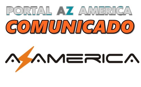 Resultado de imagem para COMUNICADO AZAMERICA PORTAL