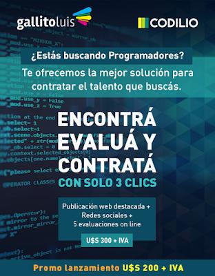 ¿Estás buscando Programadores?