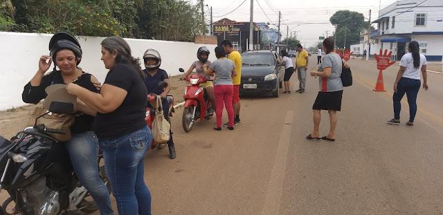 Semana Nacional do Trânsito 2019 encerrou com blitz educativa em Guajará-Mirim