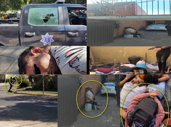 Video: Así se enfrentaron Policías a Sicarios en Zapopan; Jalisco, tomaron a un Policía como rehén, rescataron a muchas personas secuestradas