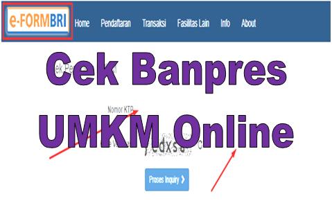 Klik Eform Bri Co Id Login Bpum Cek Banpres Umkm Online Go Bizz