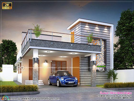 modern style single floor house 1900 sq-ft