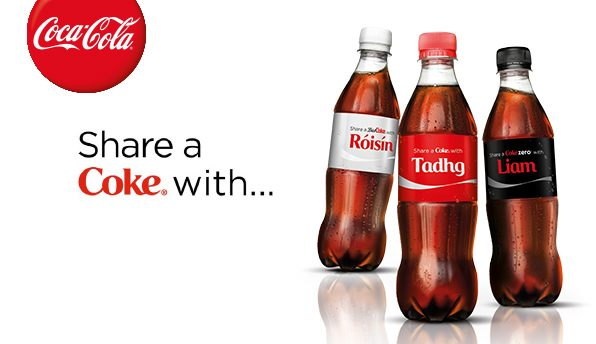 Coca-Cola Share a Coke Campaign Creative