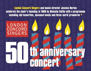 London Concord Singers 50th anniversary concert