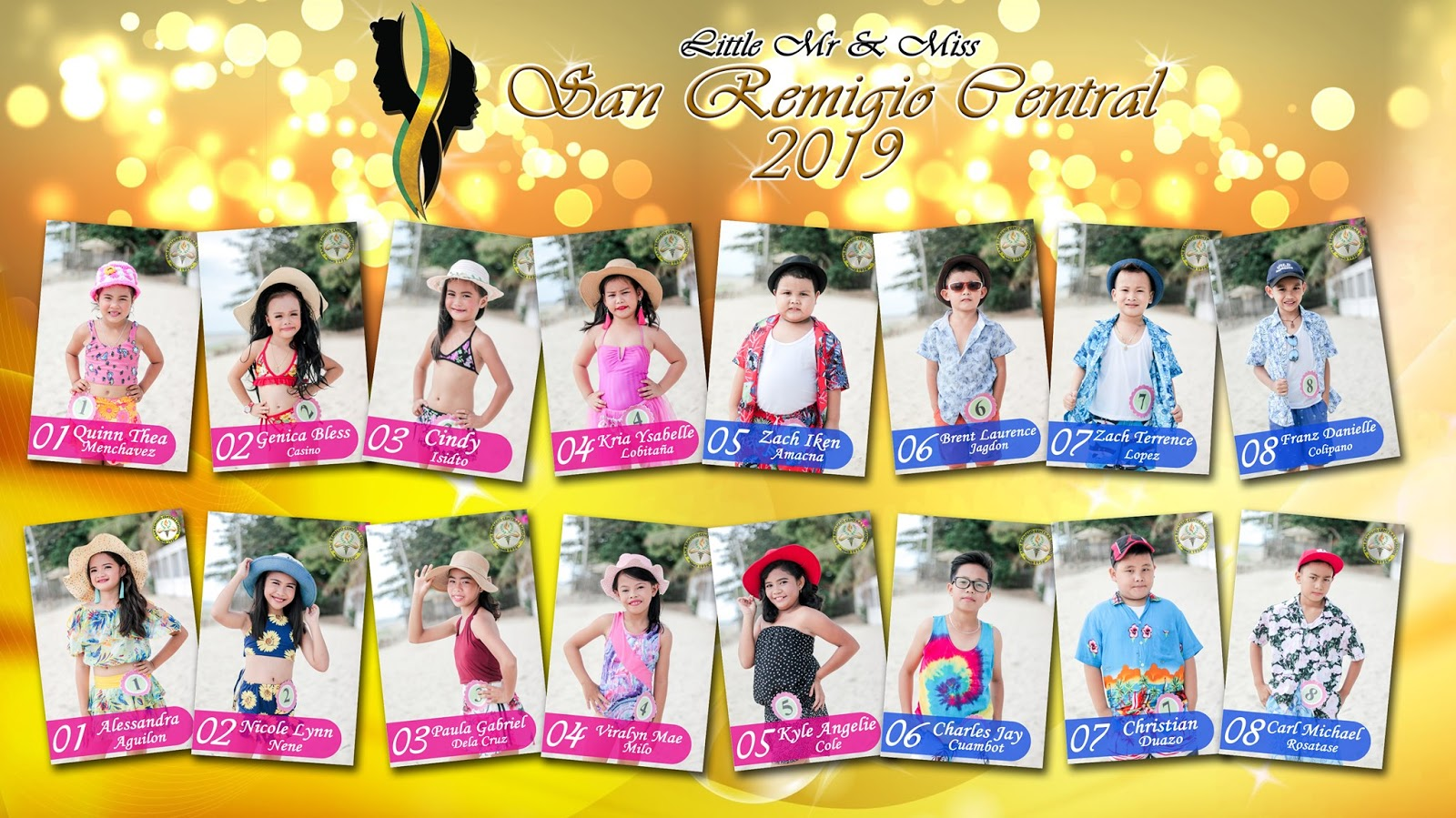 little mr and miss san remigio 2019