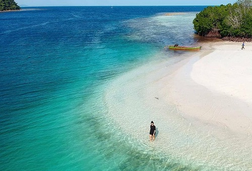 pulau pahawang pesona keindahan lampung