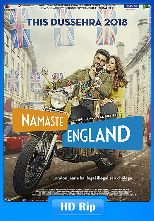Namaste England 2018 Hindi 720p HDRip x264 | 480p 300MB | 100MB HEVC