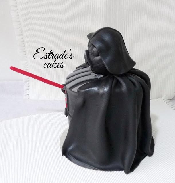 tarta de Darth Vader 5